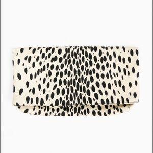 Emerson Fry leopard clutch